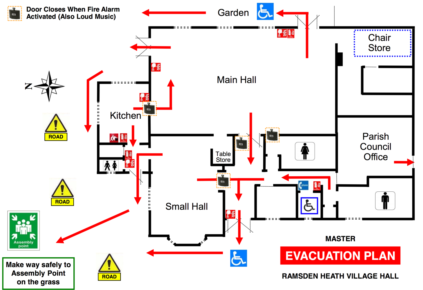 Sample of evacuation plan dimensions soccer field diagram of bacteria fire prevention plan sample trapezium geometry rhvh evacuation plan v1 pdf 1 page fire prevention plan pronofoot35fo Choice Image